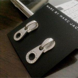 Marc by Marc Jacobs ZIPPER Dangle Earrings